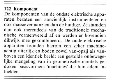 Dick Raaijmakers - dekunst van het machine lezen - 122 komponent