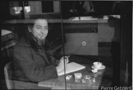 28 Georges Perec, Café de la Mairie, Place St-Sulpice 1974. Foto Pierre Getzler (1)