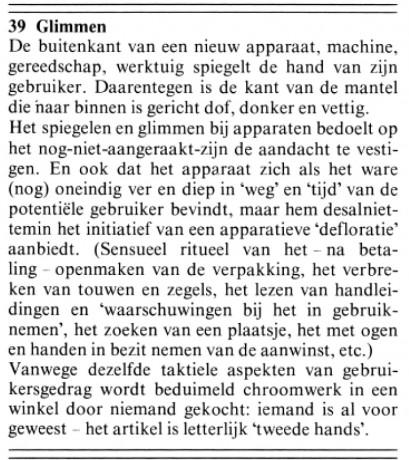Dick Raaijmakers - de kunst van het machine lezen - 39 glimmen