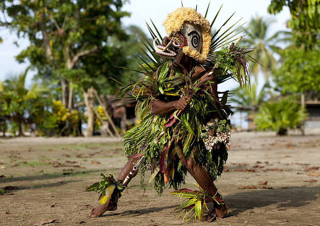 TANTUANA DANCE, NEW IRELAND ISLAND, PAPUA NEW GUINEA