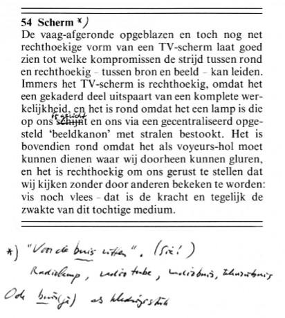 Dick Raaijmakers - de kunst van het machine lezen - 54 Scherm | Tijdschrift Terras