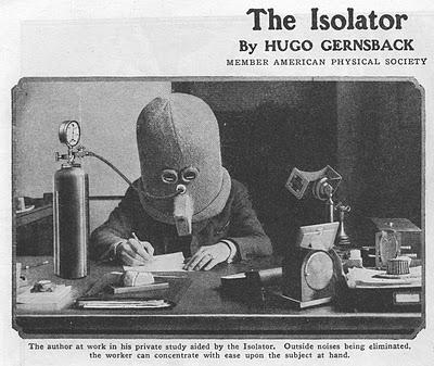 Gernsback Isolator | Tijdschrift Terras