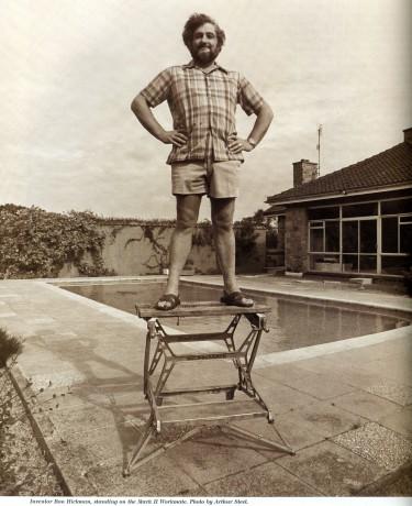 portret van Ron Hickman, uitvinder van de Workmate - Tijdschrift Terras